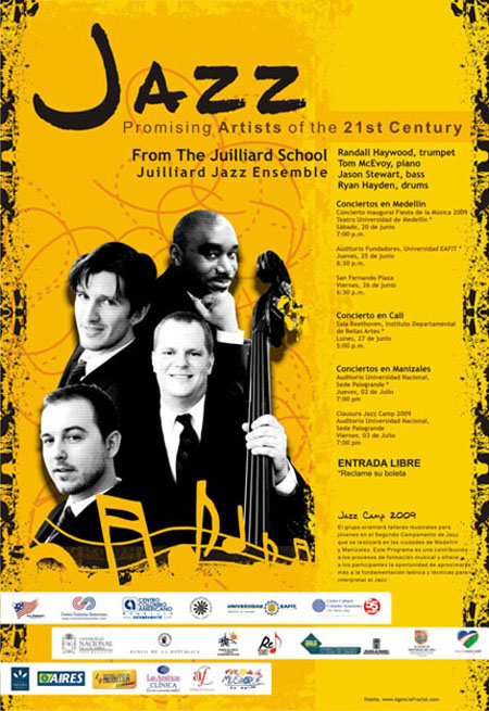 Jazz Promising Artists Julliard School